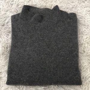 Vintage mock neck sweater 100% cashmere